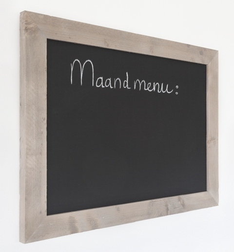 Steigerhouten Keuken Ikea : krijtbord met steigerhouten lijst kopen? bestel hem hier snel